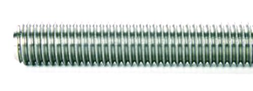 M10X1.5 SS Ametric Metric M10X1.5 DIN 975 Threaded Rod, 1 meter Long, Right Hand, Stainless Steel, (Mfg Code 1-060)