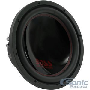 BOSS Audio Systems P129DC 12 Inch Car Subwoofer - Phantom Series, 2600 Watts Maximum Power, Dual 4 Ohm Voice Coil, Sold Individually