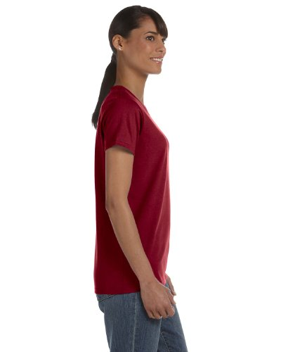 Shirt Womens Garnet (Gildan Heavy Cotton Ladies' T-Shirt, Garnet, Medium)