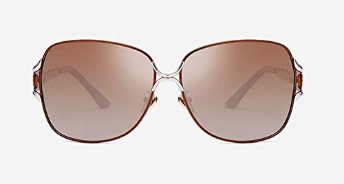 7dff4720d Fashionable men and women sunglasses - metal frame, brown lenses ...