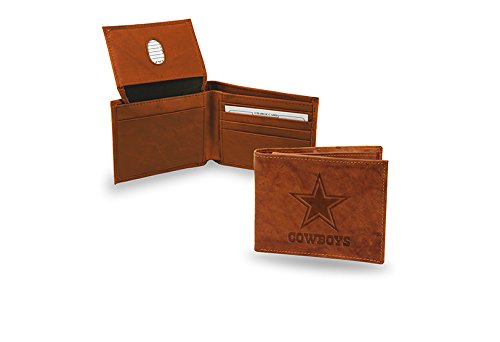 Rico Dallas Cowboys NFL Embossed Leather Billfold Wallet ()