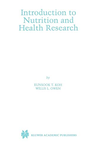 Introduction to Nutrition and Health Research