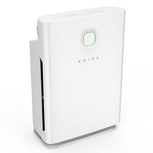 Air Purifier, Koios 5 in 1 Air Cleaner with Smart Filter Reminder, 6 Speeds Adjustment, Child Lock, Timer and Air...