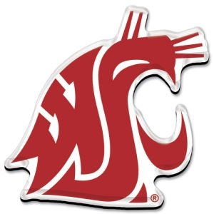 (WinCraft NCAA Washington State University Premium Acrylic Carded Magnet )