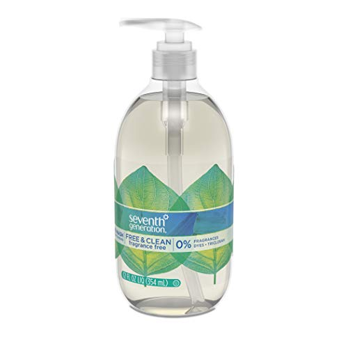 Seventh Generation Hand Wash Soap, Free & Clean Unscented, 12 Fl Oz, (Pack of 8) (Pack May Vary) by Seventh Generation (Image #10)