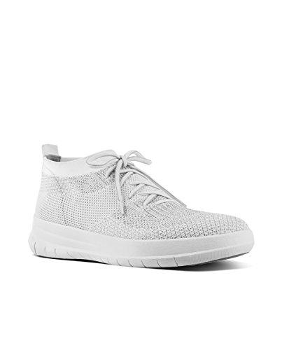Sneaker Altas Metallic Si Uberknit High para Mujer Fitflop Zapatillas on Top Slip qnXR7xwg6