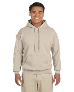 Hooded Pullover Sweat Shirt Heavy Blend 50/50 - Sand 18500 M