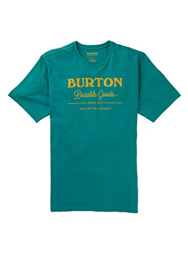 - Burton Men's Durable Goods Short Sleeve Tee, Green-Blue Slate, X-Large