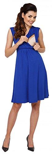 808c de Robe trapze Grossesse Ville d'allaitement Bleu Zeta Femme Maternit Royal Eq8xt6tI