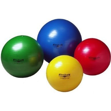 "UPC 087453230208, Thera-Band Exercise Balls - Blue - 75 cm (30"") - For Body Height 6' 2"" - 6' 8"""