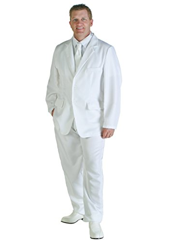 Gandalf The White Costume (Men's White Suit Costume)