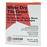 Custom Building Products WDG1-6 White Dry Non-Sanded Tile Grout