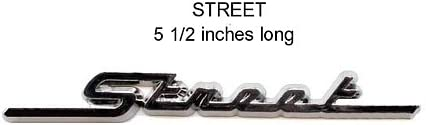 Motorcycle Fender//Saddlebag Emblems Street Emblem Pair
