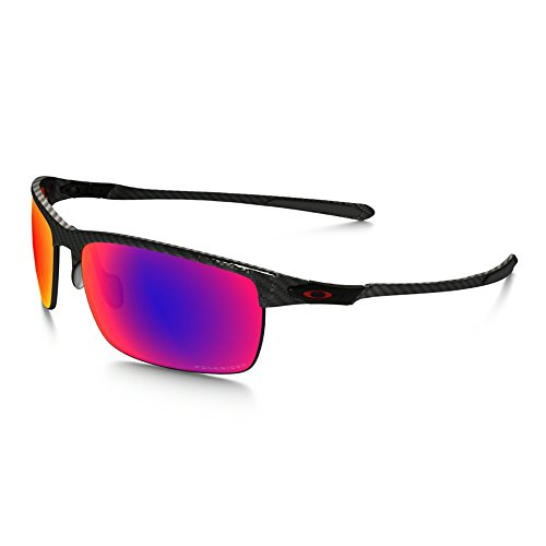 fb85d77972d7f Oakley Carbon Blade Sunglasses - Polarized Polished Carbon OO Red Irid  Polar