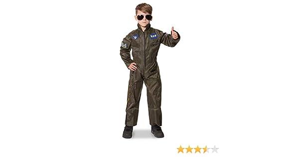 Folat - Disfraz de piloto infantil, talla S (6 años) (21694 ...