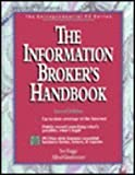 The Information Broker's Handbook, Rugge, Sue, 0079118771