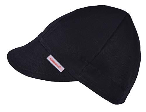 Comeaux Caps Reversible Welding Cap Solid Black 7 3/4