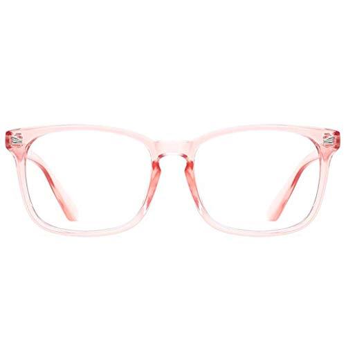 0ef2a6a1bce TANGSen Blue Light Blocking Glasses Fashion Square Nerd Eyeglasses Classic  Vintage Frame Anti Blue Ray Glasses