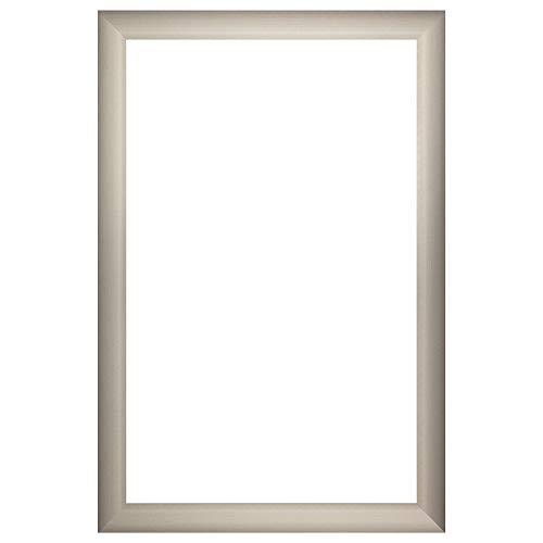 Nielsen Bainbridge Aluminum DIY Custom Mirror Frame Kit, 24x36, Brushed -