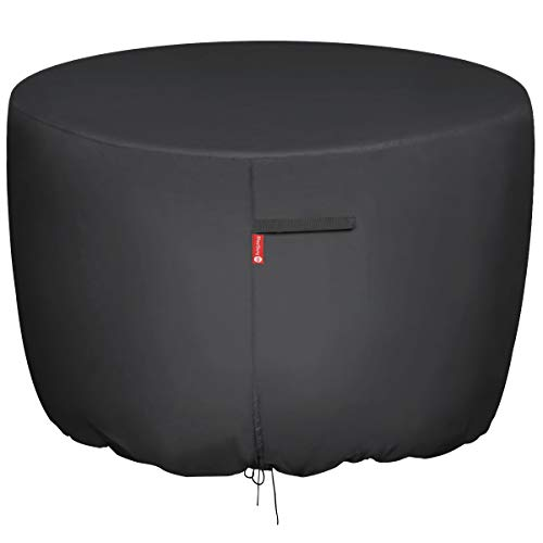SheeChung Round Gas Fire Pit/Table Cover - 36