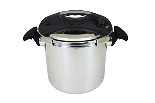 CONCORD 10.5 QT Stainless Steel Pressure Cooker Cookware