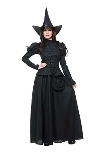 (Charades Women's Wicked Witch, Black)