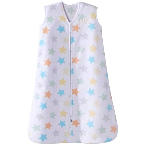 Halo Safe Dreams Micofleece Wearable Blanket, Multi Star, Medium ()