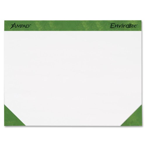 Ampad Desk Pad, Size 22x17, Unruled, 50 Sheets per Pad (Two 24 Sheet Pads)