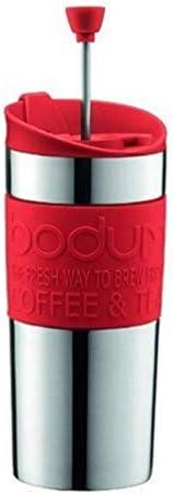 Bodum K11067294 koffiezetapparaat 035 l rood TRAVEL PRESS