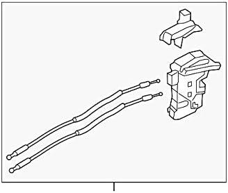 2011-2016 Sportage Rear Door Lock Actuator Motor Passenger Side OEM Latch