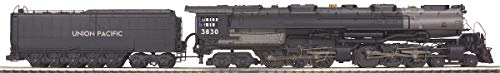(MTH O Scale Union Pacific 4-6-6-4 Challenger Steam Engine #3713 Train #20-3089-1)