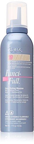Roux Fanci-Full Mousse, 19 Sweet Cream, 6 Fluid Ounce