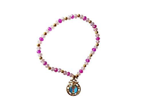 Jesus Divine Child Bracelet with Medal Pulsera Del Divino Niño