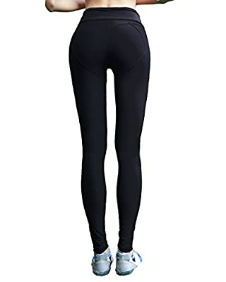 SUNNYME Women's Leggings Yoga Pants High Waist Workout Sports Stretch Active Tights