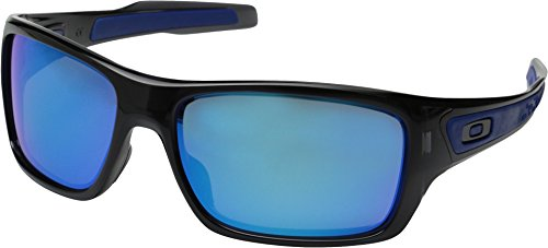 Oakley Men's Turbine OO9263-05 Iridium Rectangular Sunglasses, Black Ink, 65 - Turbine Polarized Oakley