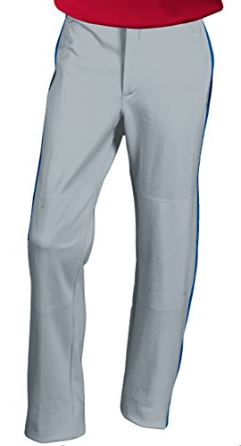 Russell Athletic Youth Piped Open Bottom Baseball Pant (Youth Medium, Royal) (Athletic Russell Baseball)