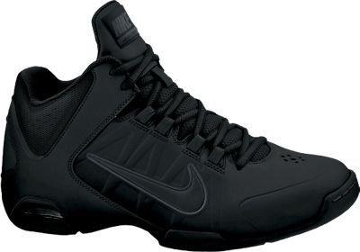 The Mens Nike Air Visi Pro IV NBK Basketball Shoe Black/Black Size 7.5
