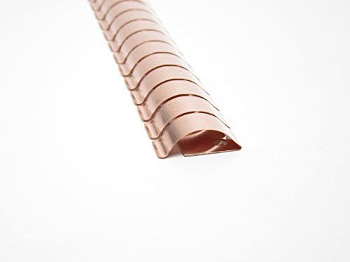 EMI/RFI Copper Beryllium Fingerstock Gasket - 0.25'' X 0.78'' X 24'' Folded Series - 20 pc's by Leader Tech (Image #4)