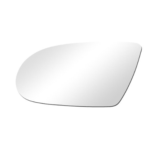 CarPartsDepot, Flat Mirror Glass Left (Driver Side) Door View New Replacement, 369-2623 GM1323417 - Camaro Door Mirror
