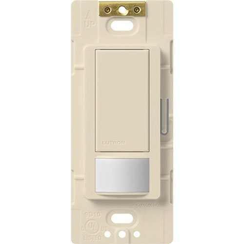 - Lutron Electronics MS-OPS2H-LA Maestro Small Room Occupancy, Sensor Switch, Light Almond