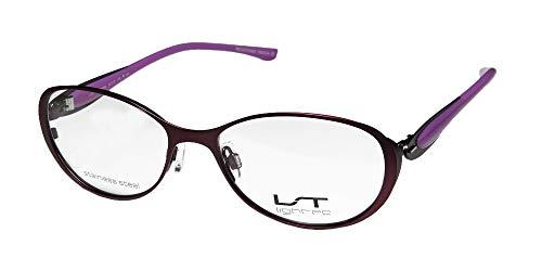 936f6d34f9 Lightec By Morel 7039l For Ladies Women Designer Flexible Hinges Stainless  Steel Upscale Sleek Eyeglasses