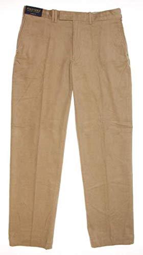 Ralph Lauren New Mens Corduroy Pants 34x32 Khaki ()