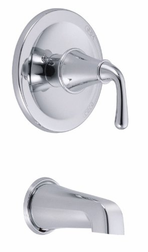 Danze D500656T Bannockburn Tub Trim Kit, Chrome, Valve Not Included