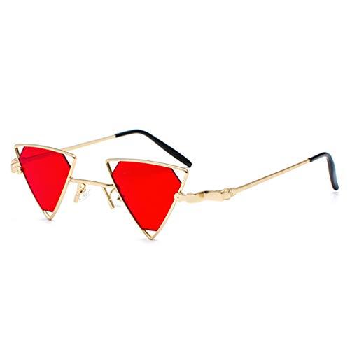 Yellow De Recorte Gafas Sol Luz Sol De Señoras Red Triángulo De NDY Sol Gafas Personalidad Gafas Hombres 6ZOFqq