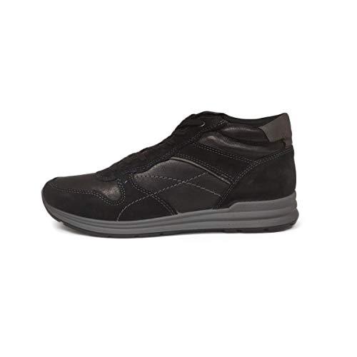 Camoscio Imac Collo Alto 011 Sneaker Nero Scarpe A 204680 5980 Uomo OIqOrY