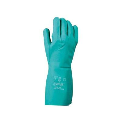 SHOWA Best® Glove Size 9 Green Nitri-Solve® 13