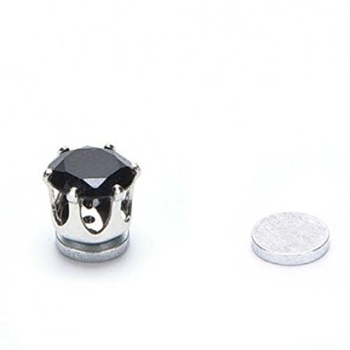 1 Pair of Magnet Earrings Popular Clip No Piercing Men's and Women's Popular Jewelry Party by AxiEr (Image #7)