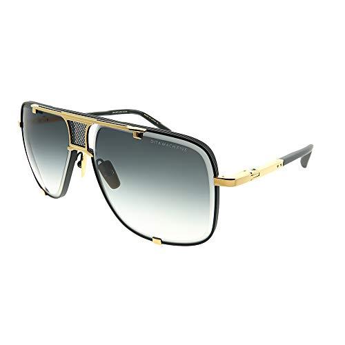 Sunglasses Dita MACH FIVE DRX 2087 A-BLK-GLD Matte Black-Yellow Gold w/ Dark Gre (Dita Sunglasses)