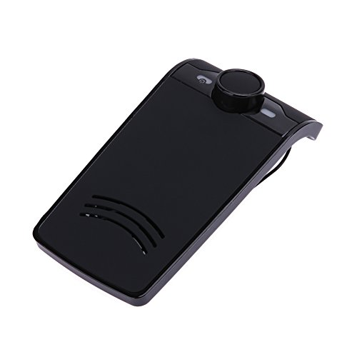 Alloet BT-828 Bluetooth Hands-free Wireless Speakerphone MP3 Car Kit Visor Clip for iPhone, Android Phones by Alloet