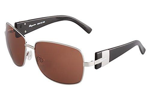 Burgmeister - Gafas de sol Rectangulares SBM120-396 para ...
